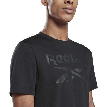 Мъжка тениска - Reebok IDENTITI BIG LOGO TEE - 4