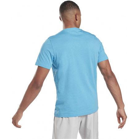 Men's T-shirt - Reebok VECTOR FADE SHORT SLEEVE TEE - 3