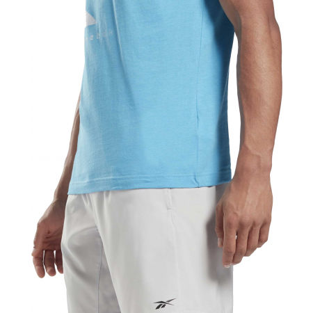 Men's T-shirt - Reebok VECTOR FADE SHORT SLEEVE TEE - 5