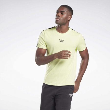Men's T-Shirt - Reebok TRAINING RESSENTIALS TAPE TEE - 2