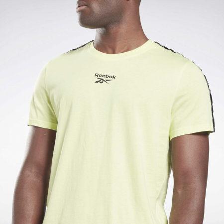 Men's T-Shirt - Reebok TRAINING RESSENTIALS TAPE TEE - 4
