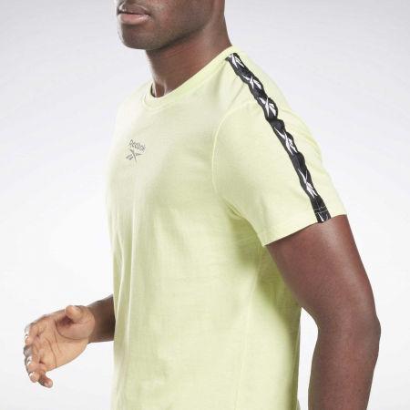 Men's T-Shirt - Reebok TRAINING RESSENTIALS TAPE TEE - 5