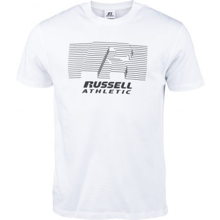 Russell Athletic STRIPED S/S TEE - Koszulka męska