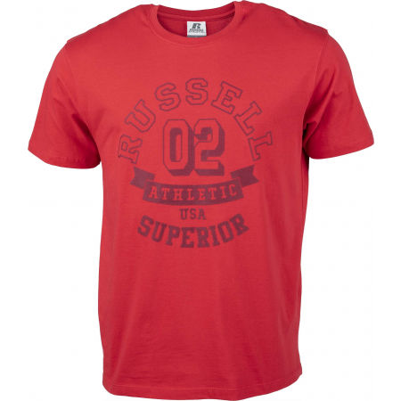 Russell Athletic SUPERIOR S/S TEE SHIRT - Férfi póló