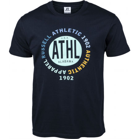 Russell Athletic CIRCLE ATHL S/S TEE - Мъжка тениска