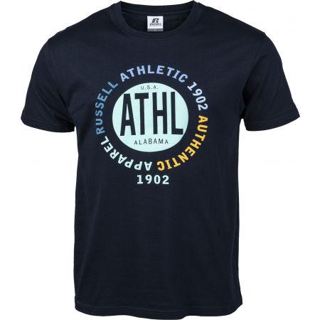 Russell Athletic CIRCLE ATHL S/S TEE - Pánské tričko