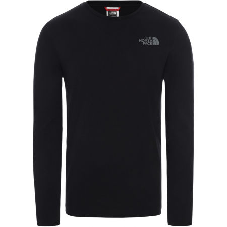 The North Face L/S EASY TEE DEEP M - Мъжка блуза