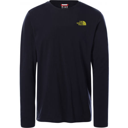 The North Face L/S EASY TEE DEEP M - Férfi póló