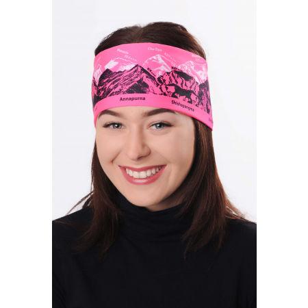 R-JET SPORTSBAND MOUNTAINS - Sports women's headband