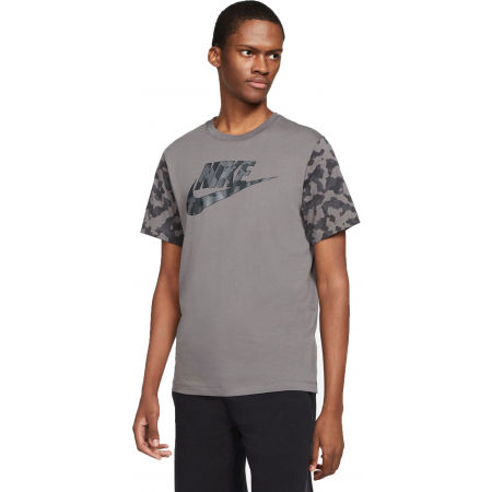 Мъжка тениска - Nike NSW TEE FUTURA CLUB FILL M - 1