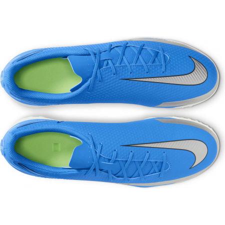 Мъжки футболни обувки - Nike PHANTOM GT CLUB TF BLU - 3