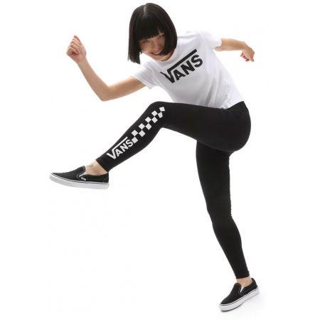 Women's leggings - Vans WM CHALKBOARD CLASSIC LEGGING - 4