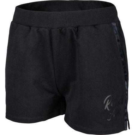 Women's shorts - Russell Athletic SL SATIN LOGO SHORT - 2