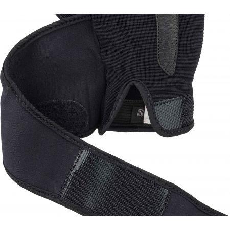Kožené fitness rukavice - Fitforce LINEAR - 5