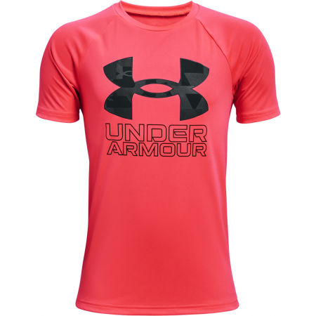 Under Armour TECH HYBRID PRT FILL - Chlapčenské tričko