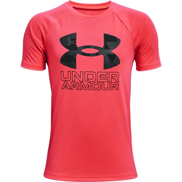 Under Armour TECH HYBRID PRT FILL  XS - Chlapčenské tričko