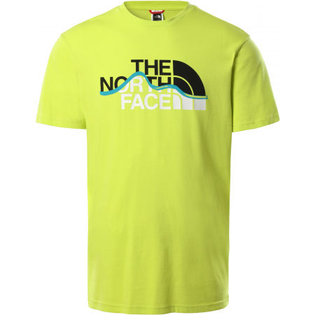 The North Face S/S MOUNT LINE TEE - Férfi póló