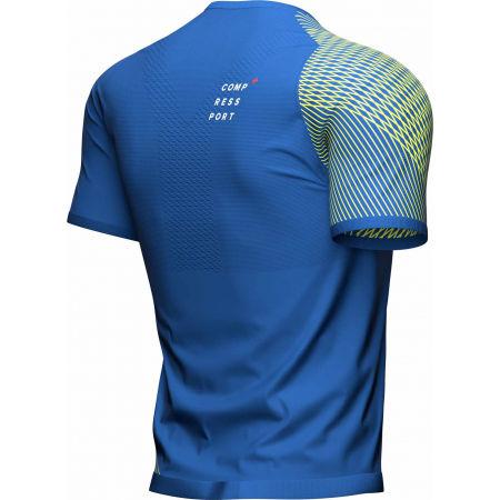Tricou alergare bărbați - Compressport PERFORMANCE SS TSHIRT M - 4