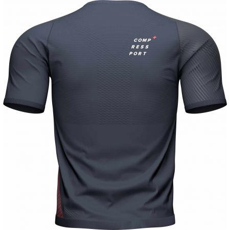 Tricou alergare bărbați - Compressport PERFORMANCE SS TSHIRT M - 5