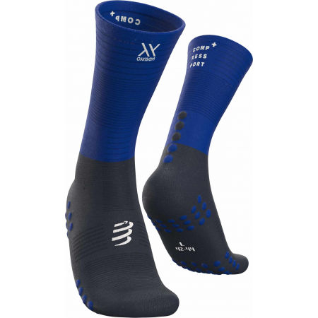 Compressport MID COMPRESSION SOCKS - Чорапи за бягане