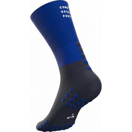 Чорапи за бягане - Compressport MID COMPRESSION SOCKS - 7