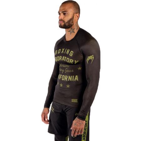 Мъжка тениска - Venum BOXING LAB RASHGUARD - 2