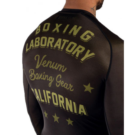Мъжка тениска - Venum BOXING LAB RASHGUARD - 4
