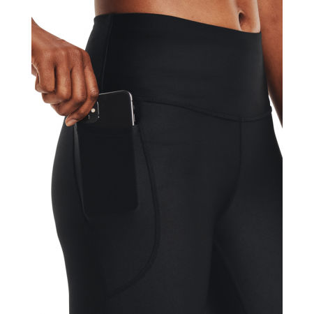 Under Armour HG Armour Hi Capri NS Legging de sport pour femme Femme Black // White L Pantalon de sport l/éger