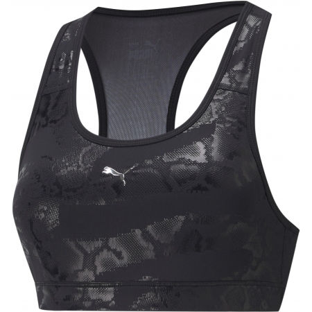 Puma MID IMPACT 4 KEEPS GRAPHIC BRA - Спортно  бюстие