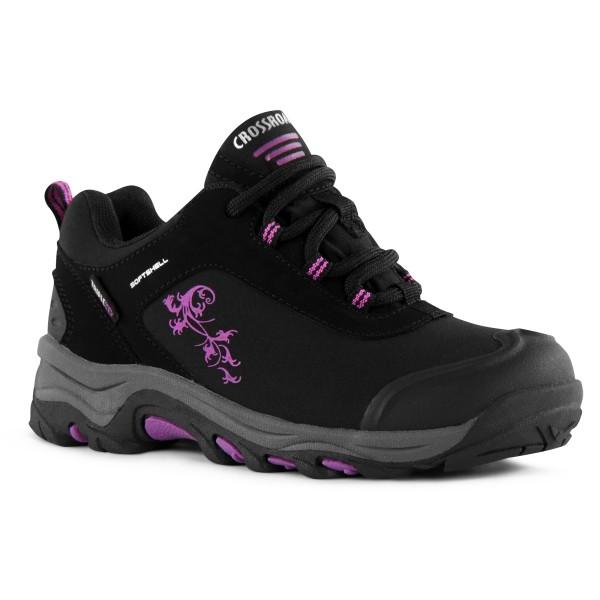 Crossroad TOKI K černá 32 - Dětská treková obuv
