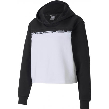 Puma AMPLIFIED CROPPED HOODIE TR - Hanorac sport damă