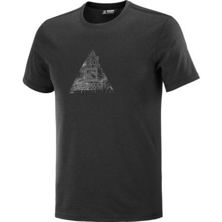 Salomon EXPLORE BLEND TEE M - Мъжка тениска