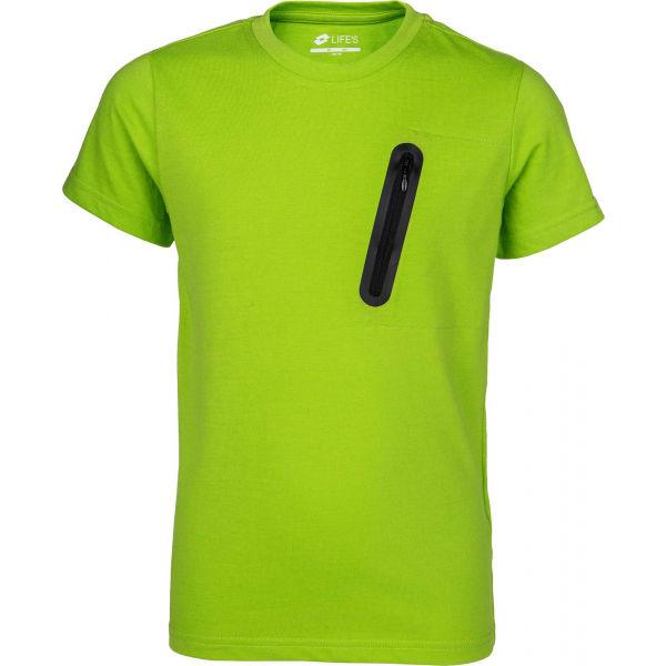 Lotto HARIAN  128-134 - Chlapčenské polo tričko s krátkym rukávom