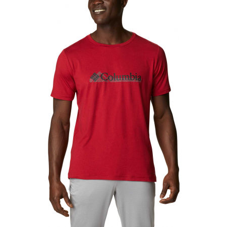 Columbia TECH TRAIL GRAPHIC TEE - Мъжка тениска