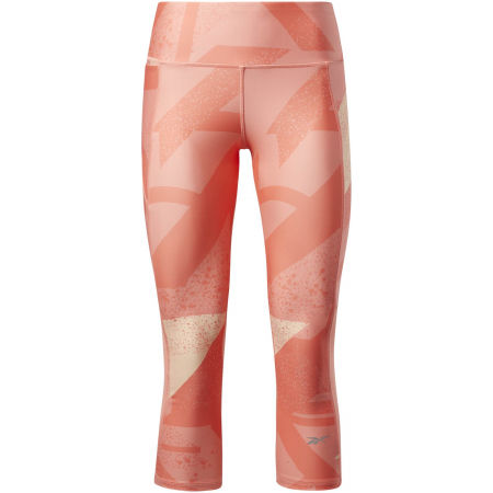 Reebok RE 3/4 TIGHT - AOP / TWICOR