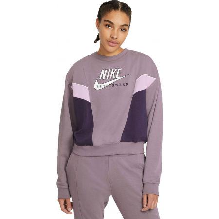 Nike NSW HERITAGE CREW FLC W - Bluză damă