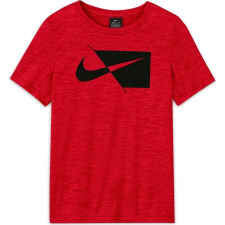 Nike DRY HBR SS TOP B - Chlapčenské športové tričko