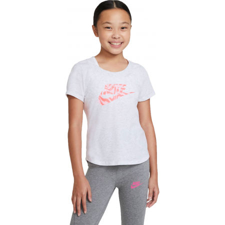 Nike NSW TEE SCOOP RTL - Girls' T-shirt
