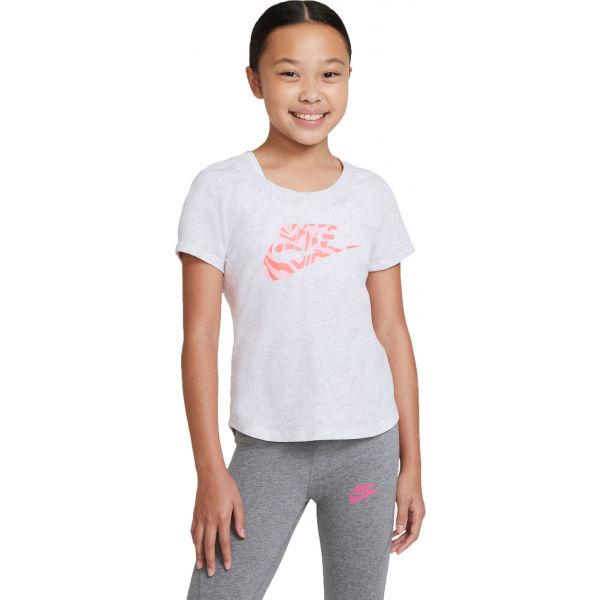 Nike NSW TEE SCOOP RTL  S - Dívčí tričko