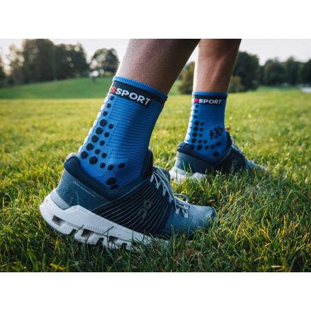 Чорапи за бягане - Compressport RACE V3.0 RUN HI - 11