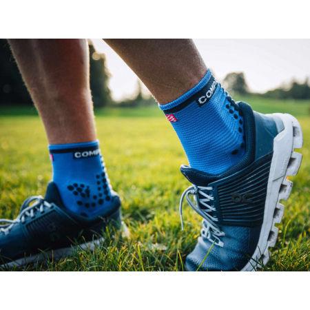 Чорапи за бягане - Compressport RACE V3.0 RUN HI - 12