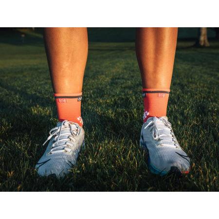 Running socks - Compressport RACE V3.0 RUN HI - 10
