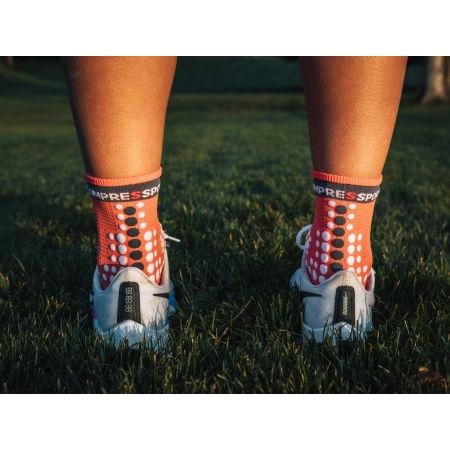 Running socks - Compressport RACE V3.0 RUN HI - 11