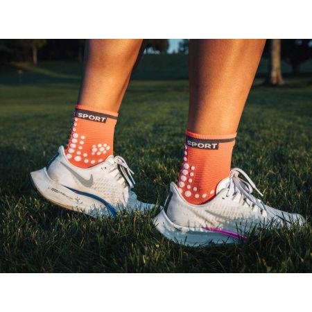 Running socks - Compressport RACE V3.0 RUN HI - 12