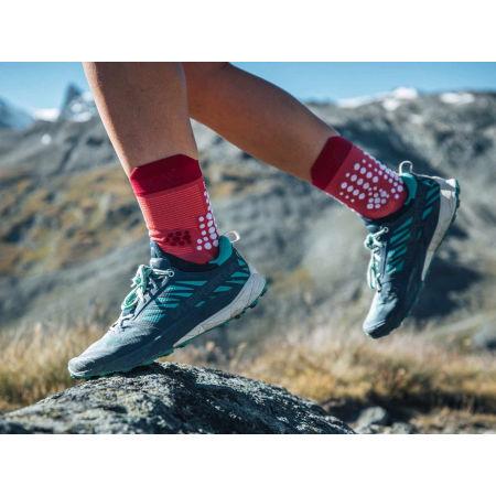 Running socks - Compressport RACE V3.0 TRAIL - 12