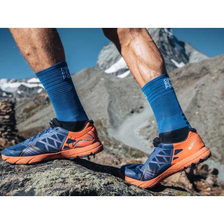 Чорапи за бягане - Compressport MID COMPRESSION SOCKS - 10