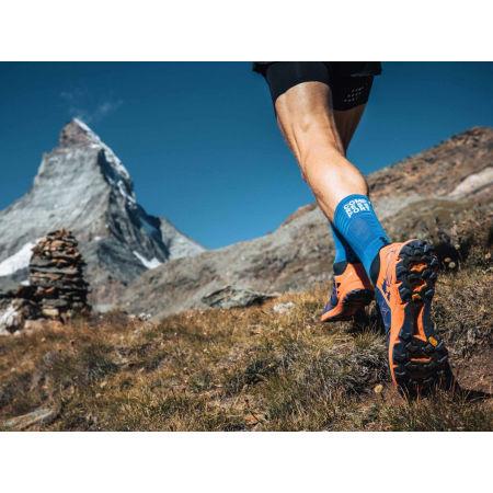 Чорапи за бягане - Compressport MID COMPRESSION SOCKS - 11