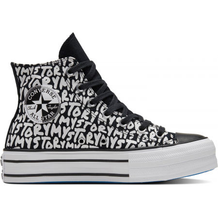 Converse CHUCK TAYLOR ALL STAR DOUBLE STACK LIFT - Дамски високи кецове