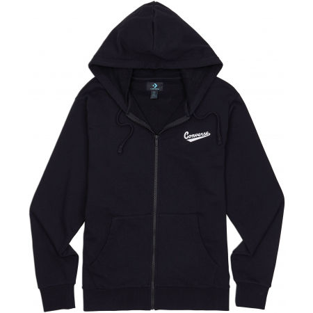 Converse NOVA FULL ZIP HOODIE FT - Men's sweatshirt