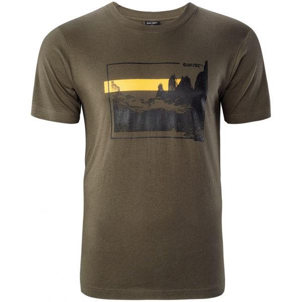Hi-Tec ZARYN  XL - Pánske tričko